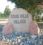 Four Hills Neighborhood Monument
