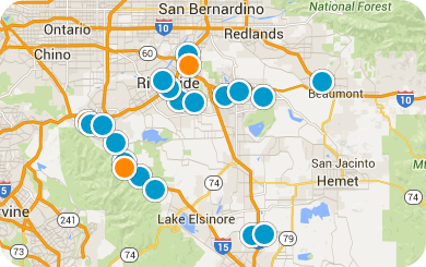 Inland Empire Map Search