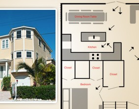 Real estate floor plans for your Anna Maria Island home