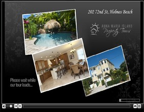 Real estate virtual tour of Anna Maria Island Properties
