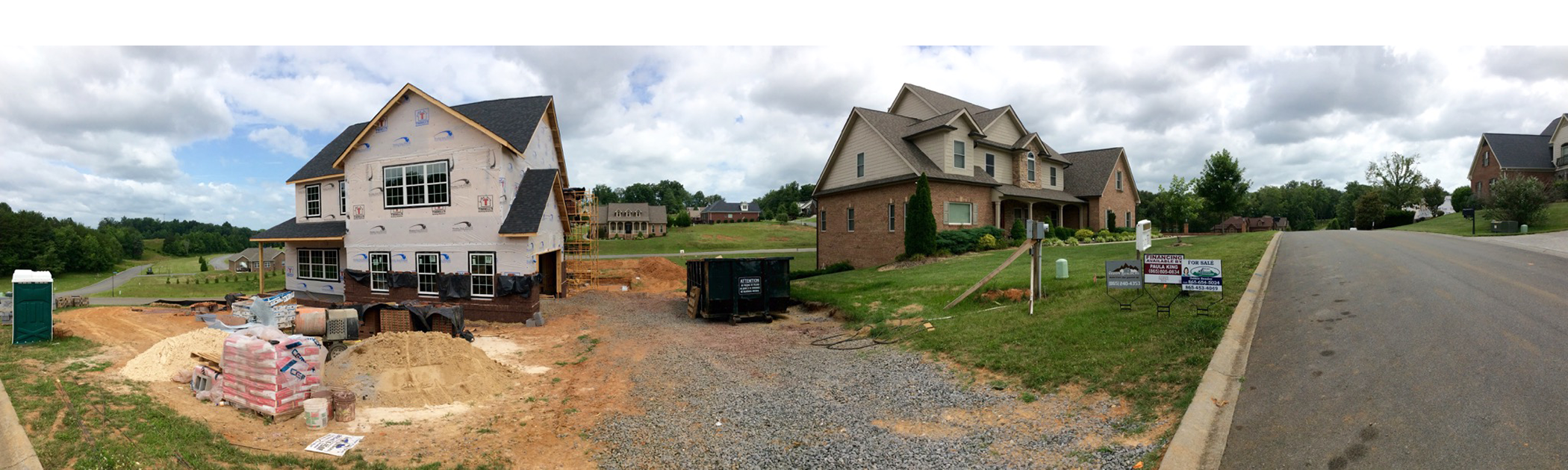 new homes for sale in landmark point subdivision sevierville tn