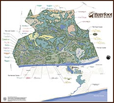 Click for Map of Barefoot Resort
