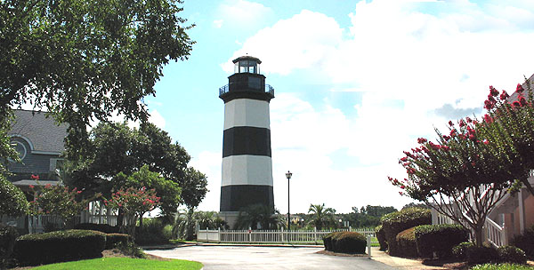 Governor's Lighthouse from Lightkeepers Village