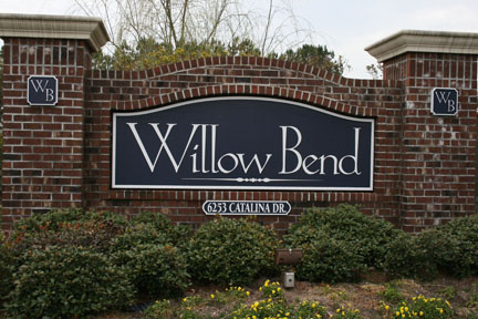 Willow Bend Entrance