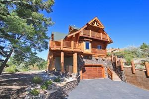 Big bear homes for sale in moonridge big bear real estate for Log cabins in big bear
