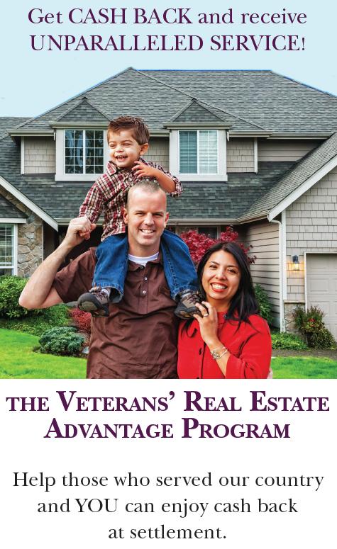 The Veterans' Real Estate Advantage Program - The Bob & Ronna Group