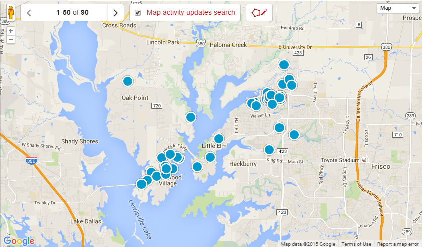 Little Elm TX Real Estate and Home Search Results