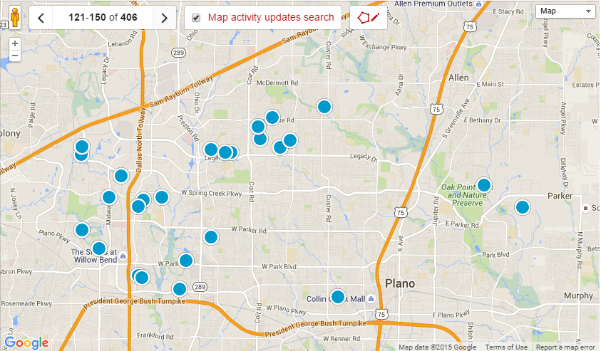 Plano TX Real Estate and Home Search Results