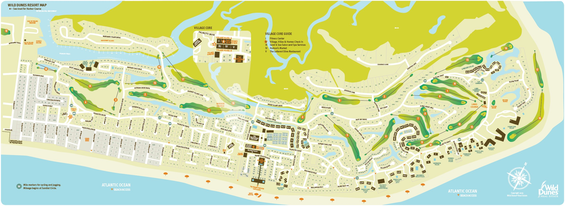 Isle of Palms  SC   Wild Dunes Community Map. Wild Dunes Isle Of Palms Homes  Condo s   Land For Sale