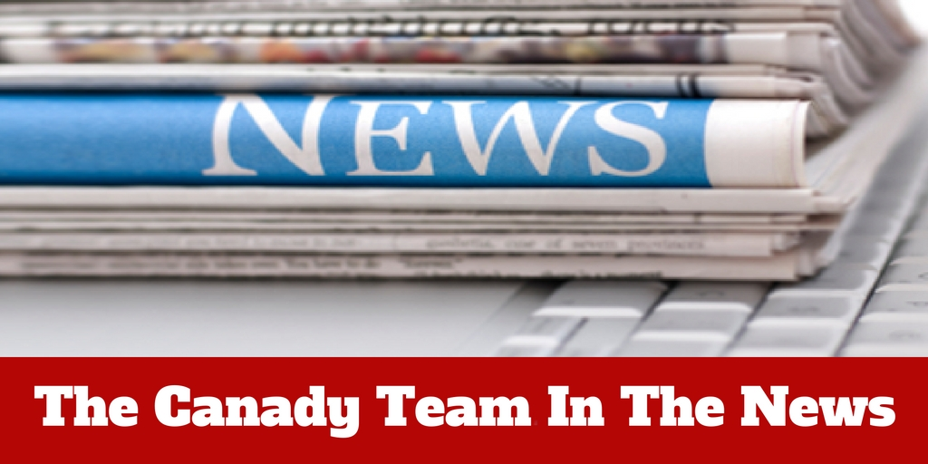 The Canady Team In The News