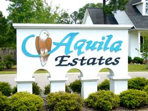 Aquila Real Estate Sign