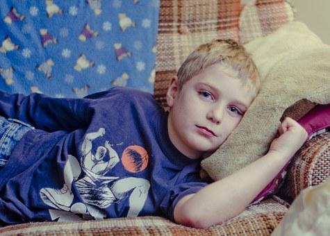 sick child because of e-cigarrette