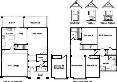 Floor Plan- 2115 E Bowker Street