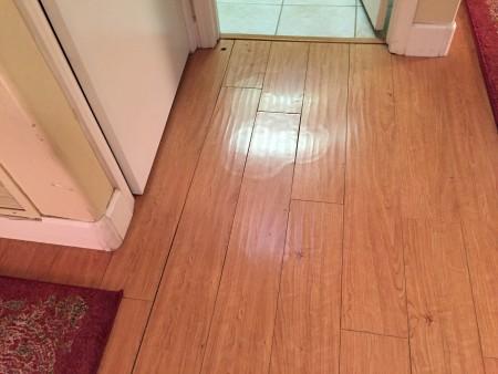 Laminate wood floors