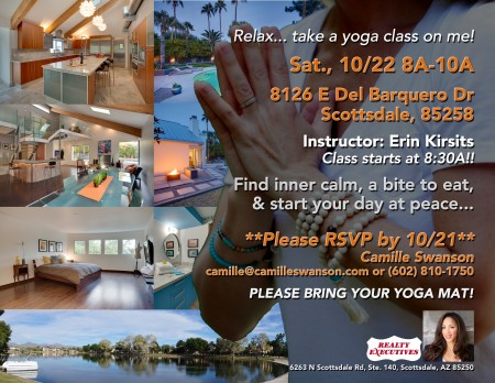 Yoga Open House- 10/22/16