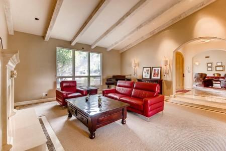 Living Room- MLS 5623262: 5901 E Sanna St., Paradise Valley