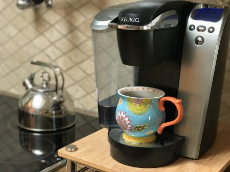 Colorful mug & Keurig