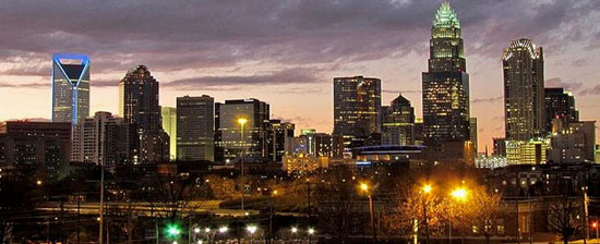 Charlotte NC at Night from Wikipedia