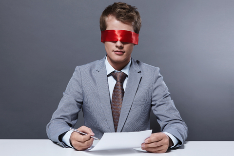 Choosing a real estate agency - blindfolded