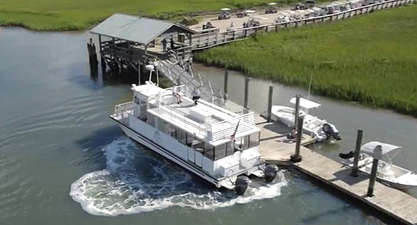 Ferry to Dewees Island
