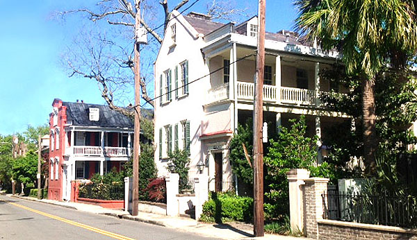 Ansonborough Historic District Charleston