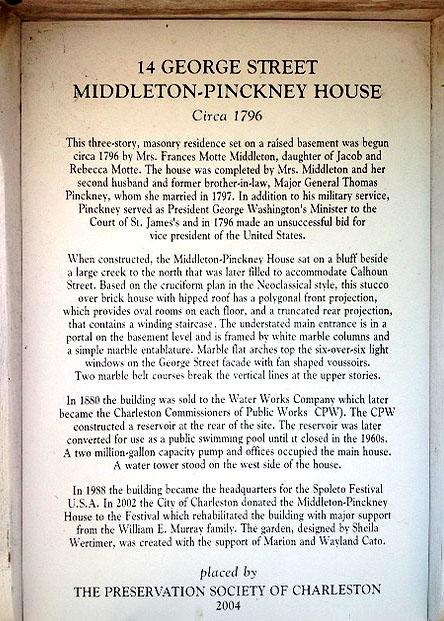 Historic Marker in Ansonborough