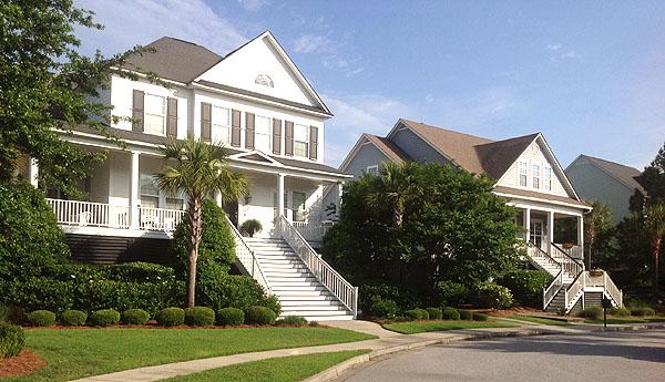 Homes on Daniel Island, Charleston