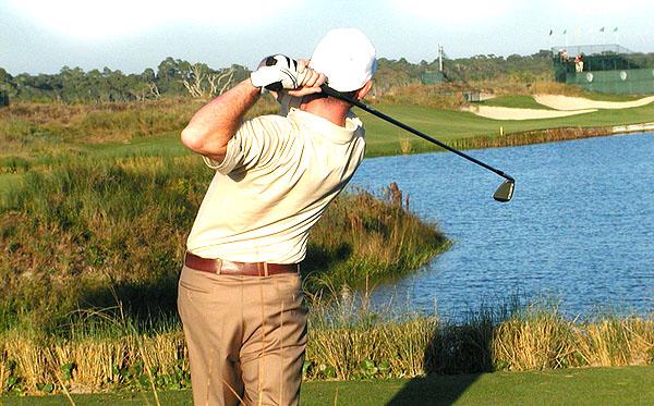 Golfing on John's Island