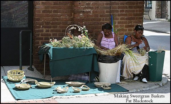 Making Sweetgrass Baskets
