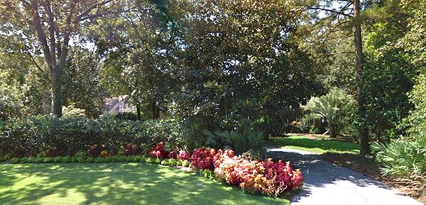 Flowered Yard in Ashley Harbor