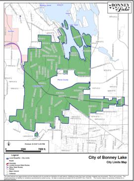 City Of Puyallup Zoning Map