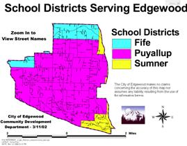 edgewood schools map