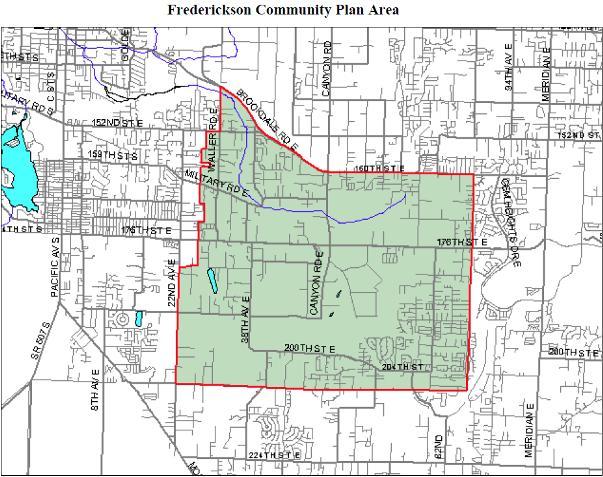 frederickson map