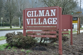 gilman village sign