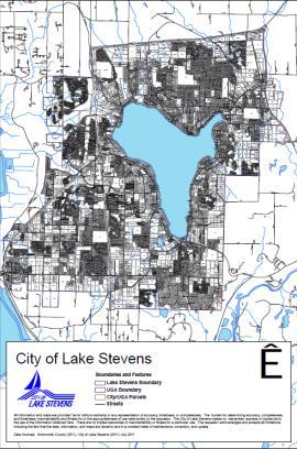 lake stevens map