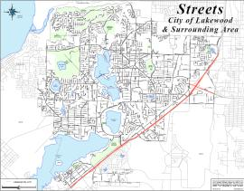 lakewood city map