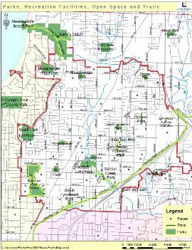 lynnwood parks map