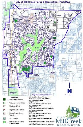 mill creek parks map