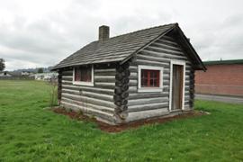 pacific log cabin
