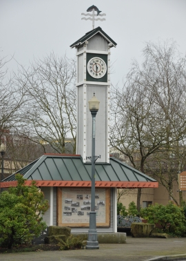 redmond town clock