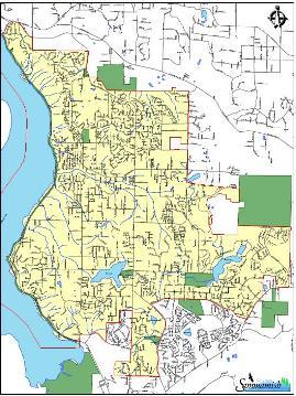 sammamish map