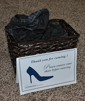 shoe bin