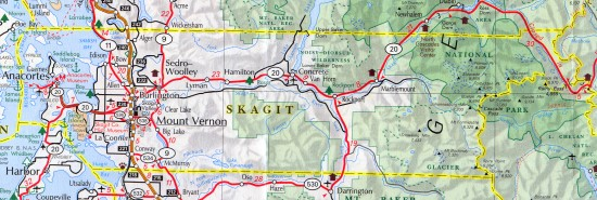 skagit county map