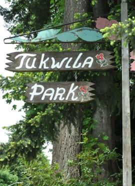 tukwila park sign