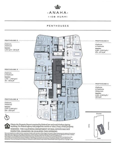 Anaha Penthouse Floorplan