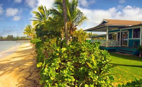 sandy beach house