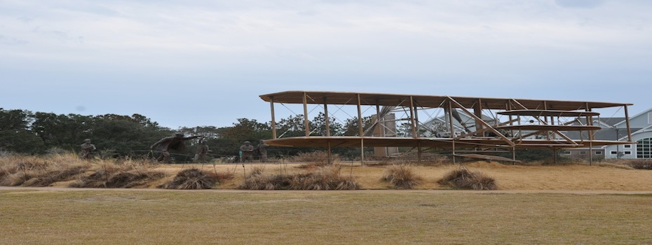 Orville and Wilbur Wright Plane Kitty Hawk, NC