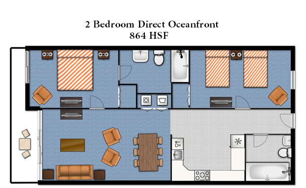 2bedroomfloorplan myrtle beach search mls for all oceanfront condos on