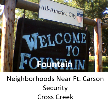 Fountain Valley Colorado Springs Neighborhoods and Homes for Sale