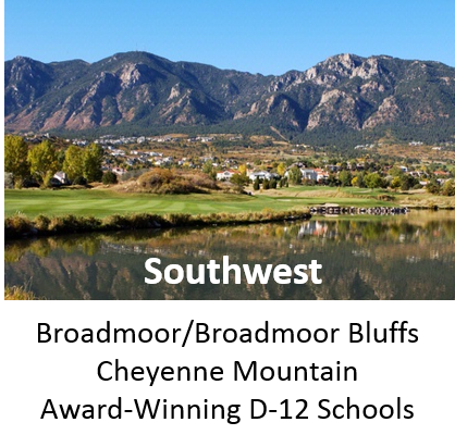 Southest Colorado Springs Neighborhoods and Homes for Sale